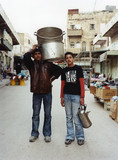 Ahmad and Shadi, Hebron, 2007
